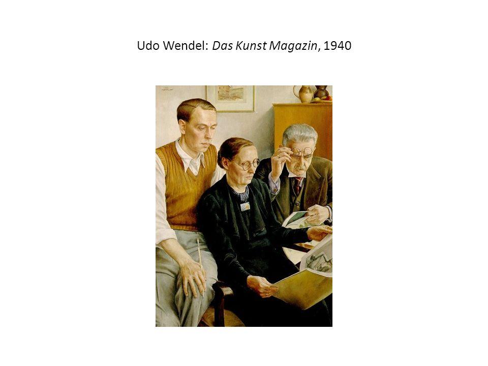 Udo Wendel: Das Kunst Magazin, 1940