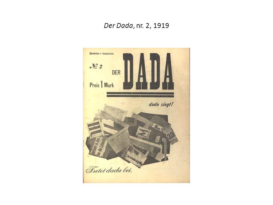 Der Dada, nr. 2, 1919