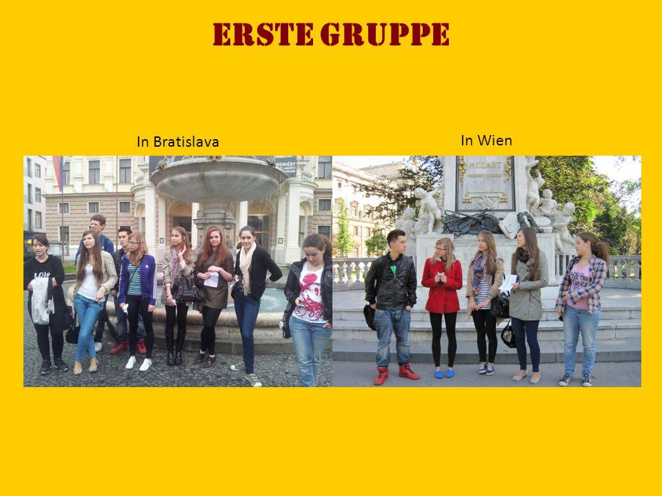 ERSTE Gruppe In Bratislava In Wien