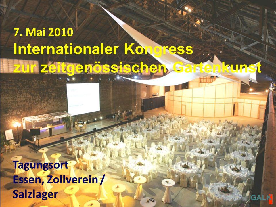 Tagungsort Essen, Zollverein / Salzlager 7.