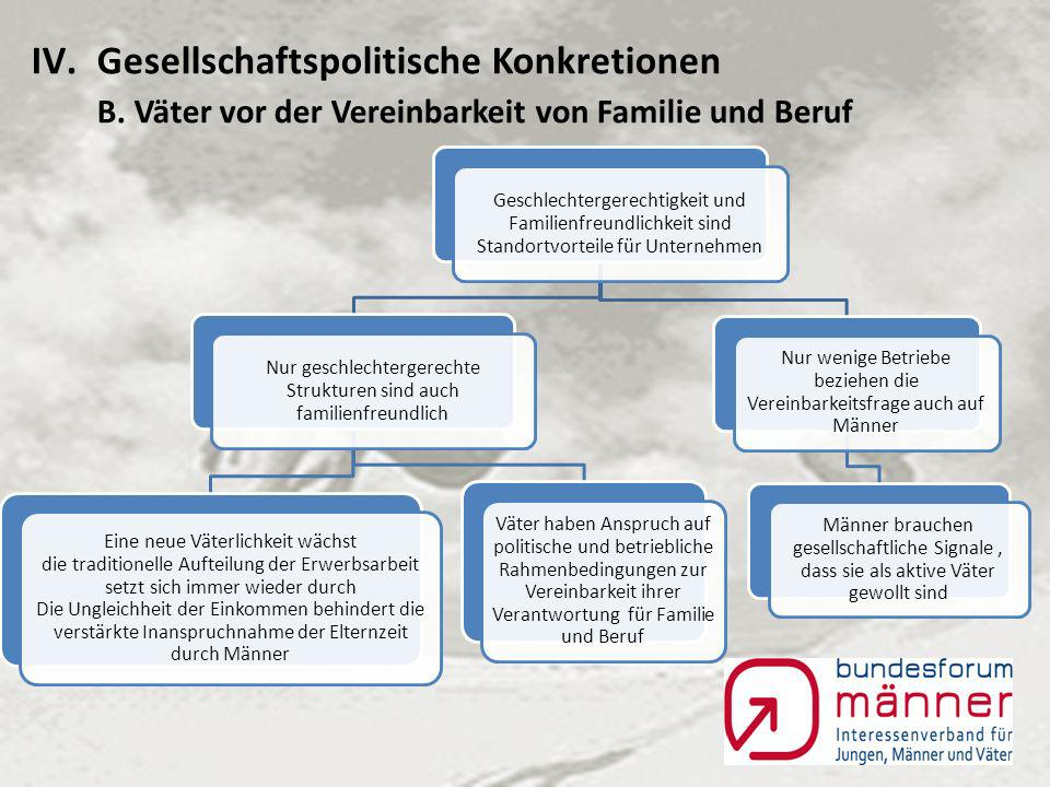 IV.Gesellschaftspolitische Konkretionen A.