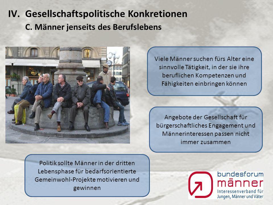 IV.Gesellschaftspolitische Konkretionen B.