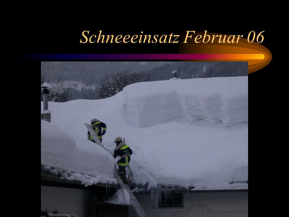 Schneeeinsatz Februar 06