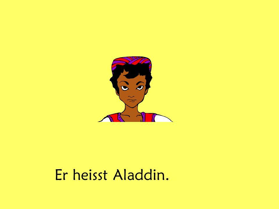 Er heisst Aladdin.