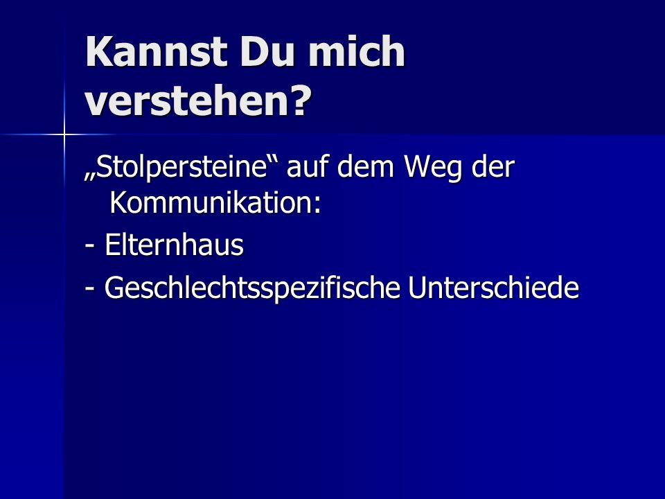 Sprachkurs Frau - Mann