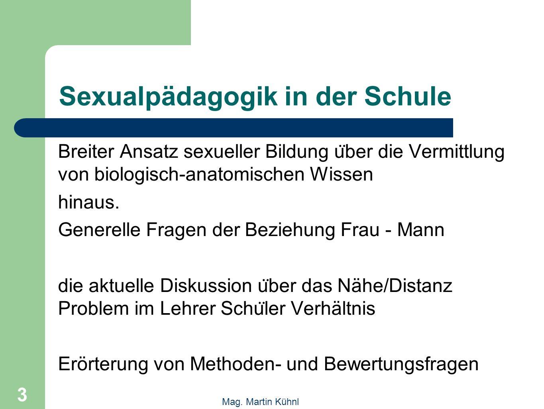 4 Mag.Martin Kühnl Programm 2 Freitag, 29. Oktober 9.00 - 9.15 Mag.