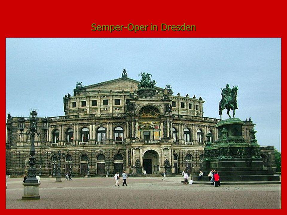 Semper-Oper in Dresden