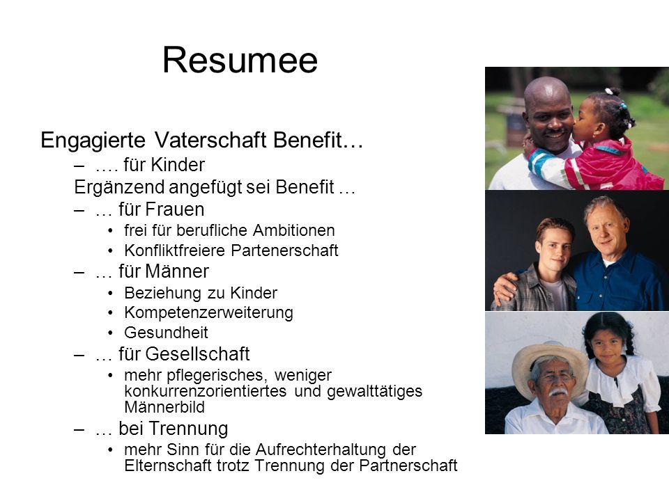 Resumee Engagierte Vaterschaft Benefit… –….