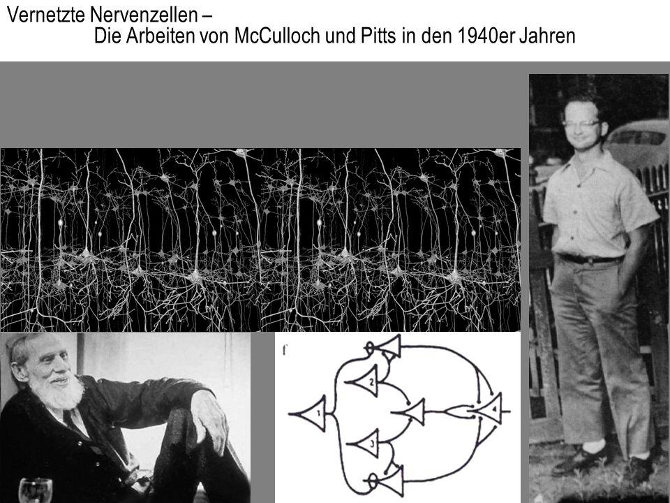 Vernetzte Nervenzellen – Die Arbeiten von McCulloch und Pitts in den 1940er Jahren