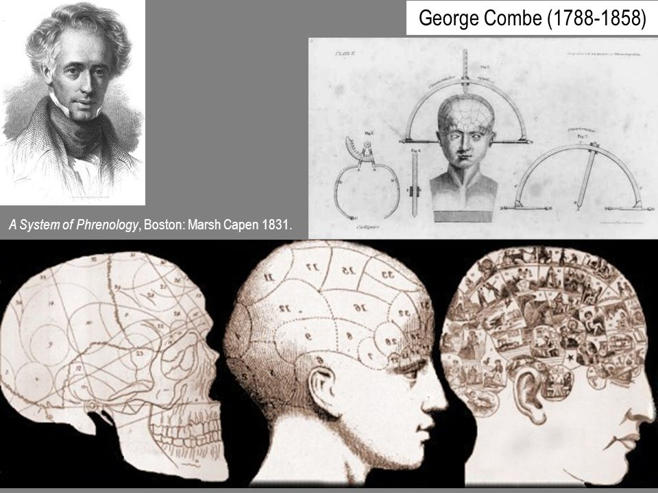 A System of Phrenology, Boston: Marsh Capen 1831. George Combe (1788-1858)