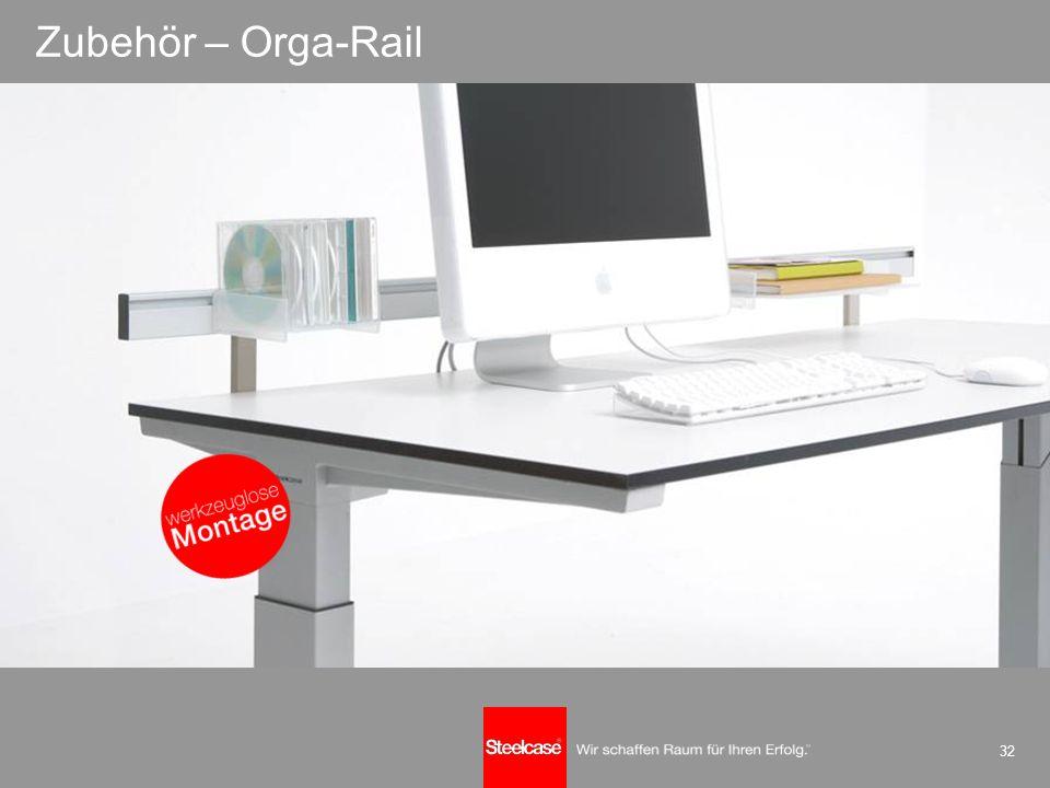 32 Zubehör – Orga-Rail