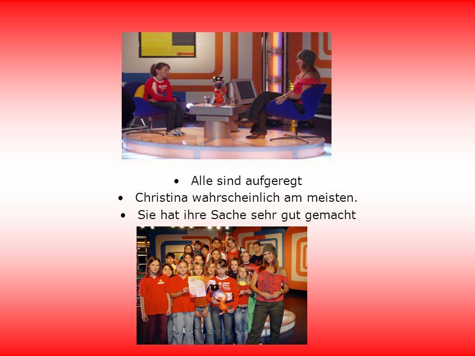 Confetti Tv Aufzeichnung der Sendung Einer für alle Es war sehr spannend zu erleben wie eine Fernsehsendung entsteht und live dabei zu sein Wir gewannen 270 Euro