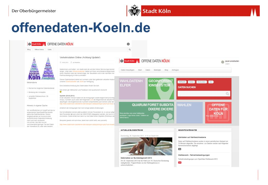 Einbindung (Kölner) Community
