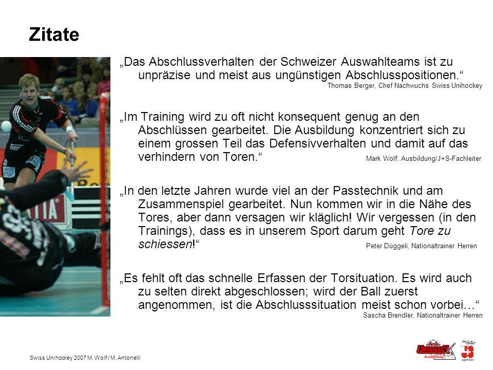 Swiss Unihockey 2007 M.Wolf / M.