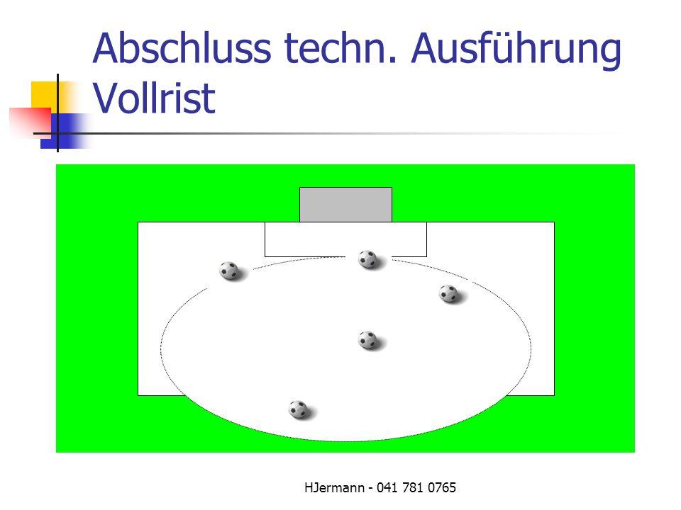 HJermann - 041 781 0765 Abschluss techn. Ausführung Vollrist