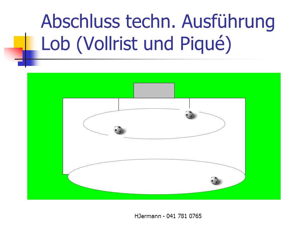 HJermann - 041 781 0765 Abschluss techn. Ausführung Lob (Vollrist und Piqué)