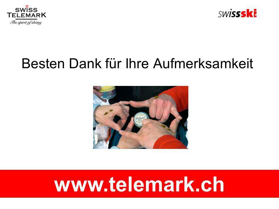 Besten Dank für Ihre Aufmerksamkeit www.telemark.ch