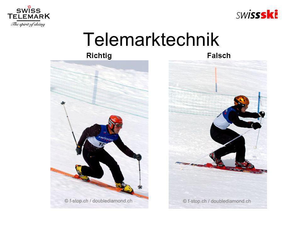 Telemarktechnik RichtigFalsch