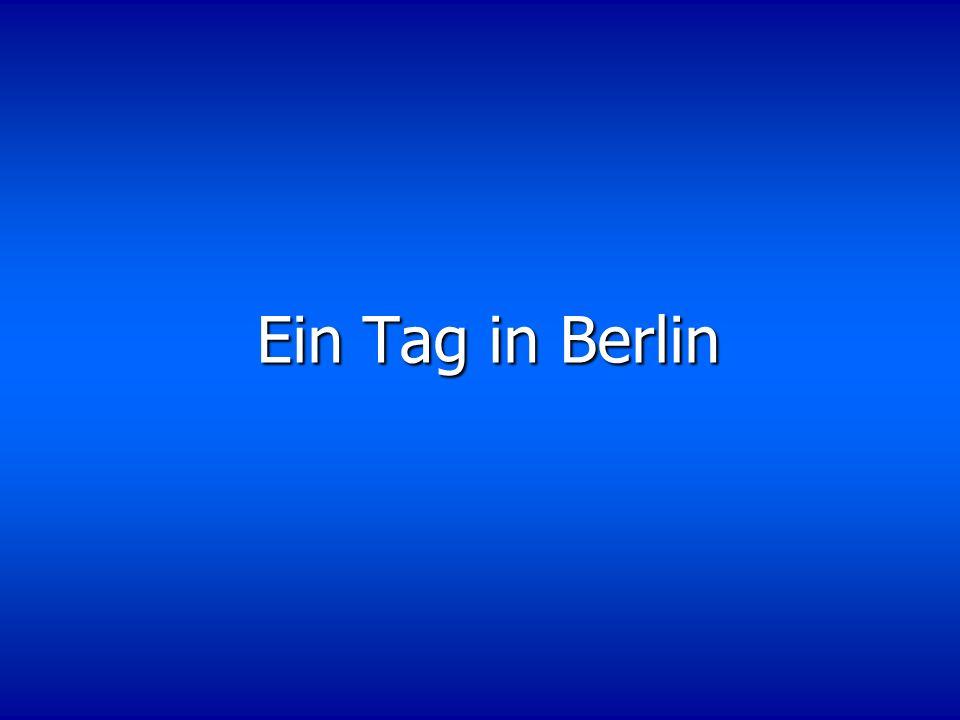 Ihr Brieffreund aus Berlin hat Sie zu Besuch eingeladen und hat für Sie eine Rallye durch die Stadt vorbereitet.