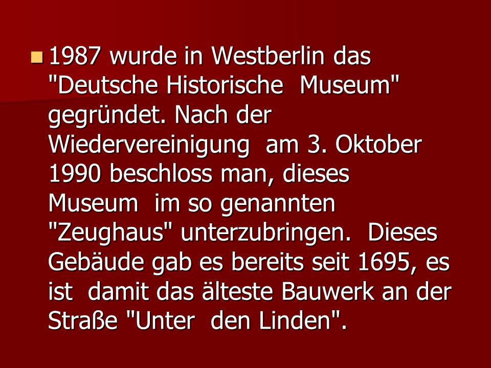 1987 wurde in Westberlin das
