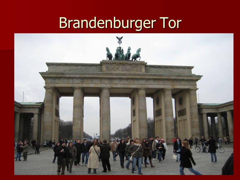 Es ist das bekannteste Bauwerk Berlins.