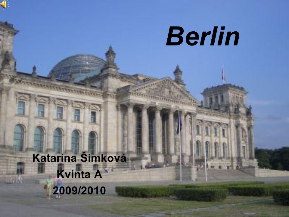 Berlin Katarína Šimková Kvinta A 2009/2010