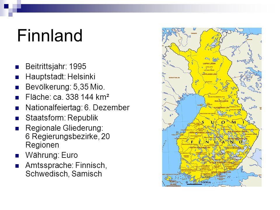 Wusstest du, dass… … der finnische Name des Landes Suomi auf Deutsch Sumpfland bedeutet.