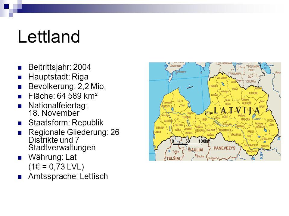 Wusstest du, dass… … das heutige Gebiet Lettlands bereits um 2000 vor Christus besiedelt wurde.