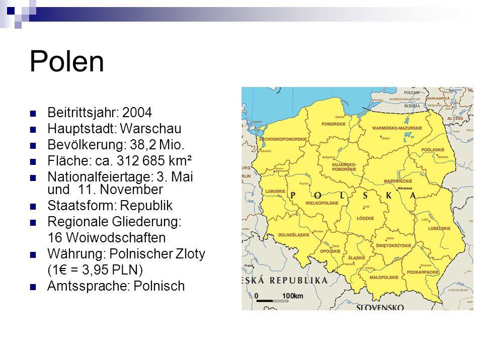 Wusstest du, dass… … Polen in den Jahren zwischen 1795 und 1918 praktisch eine Nation ohne Land war.