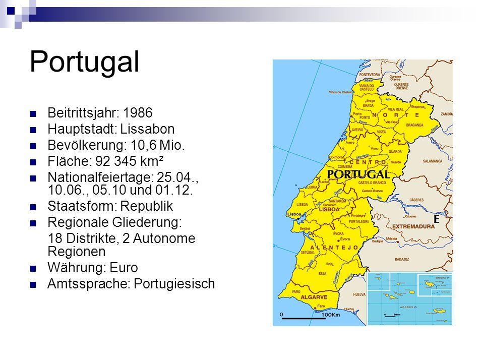 Wusstest du, dass… … das Land nach seiner zweitgrößten Stadt Porto (lateinisch Hafen) benannt ist.