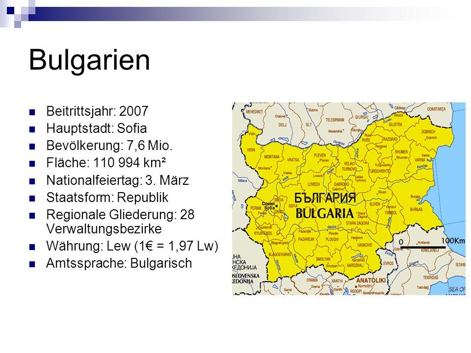 Wusstest du, dass… … der bulgarische Staat einer der ältesten in Europa ist.