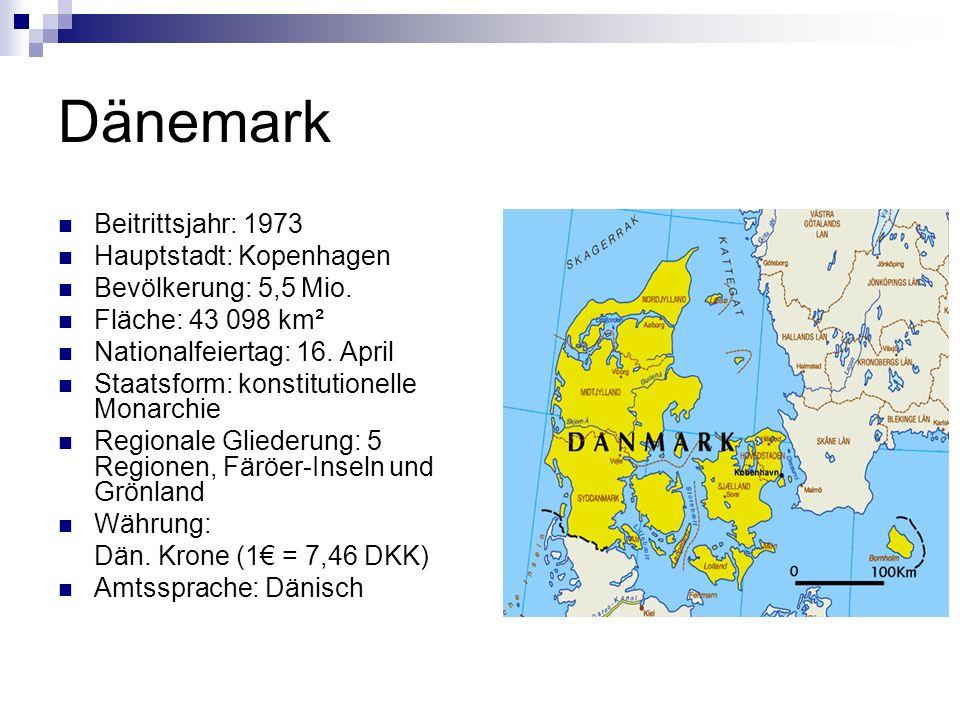 Wusstest du, dass… … Dänemark eine der ältesten Monarchien Europas ist.
