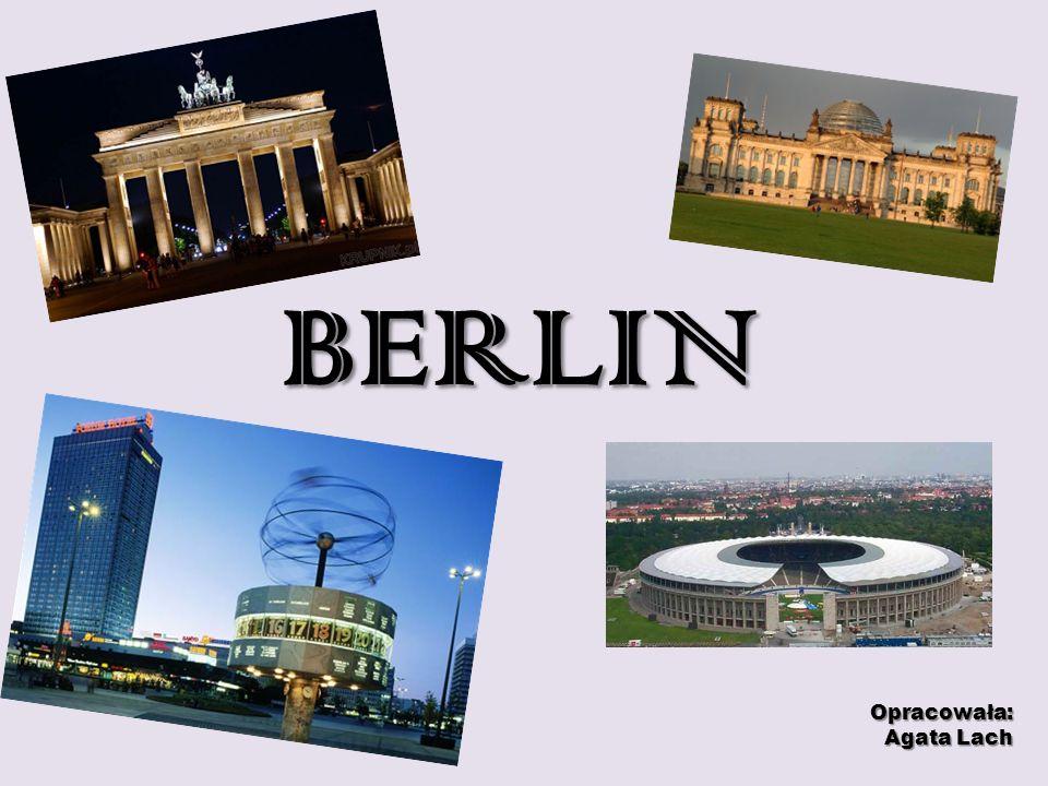 BLICK AUF BERLIN Berlin ist Bundeshauptstadt und Regierungssitz der Bundesrepublik Deutschland.