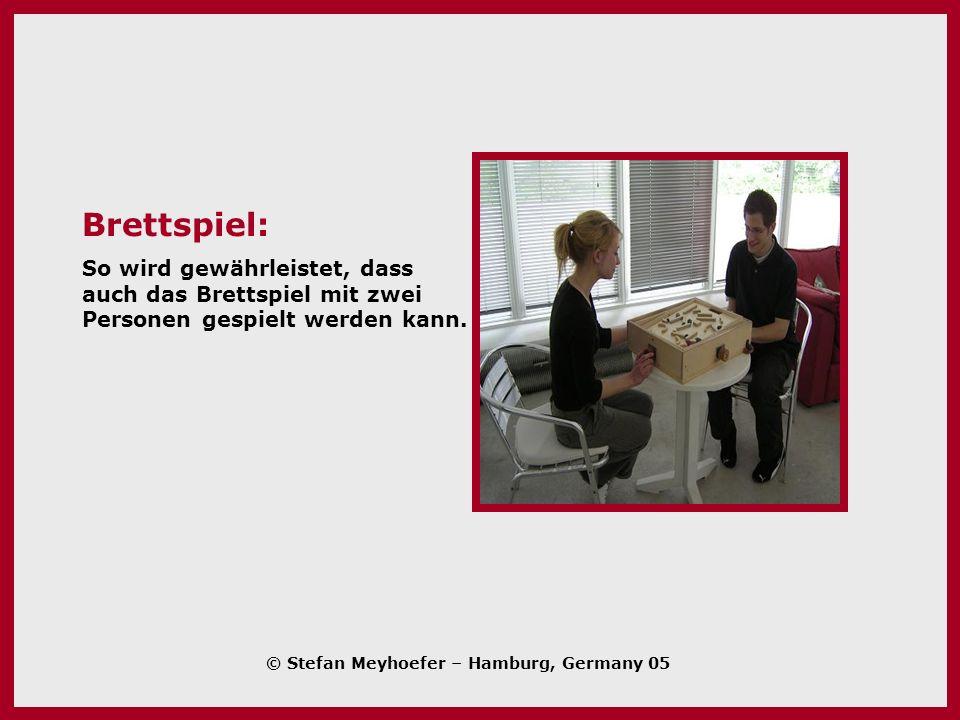 Brettspiel: So wird gewährleistet, dass auch das Brettspiel mit zwei Personen gespielt werden kann.