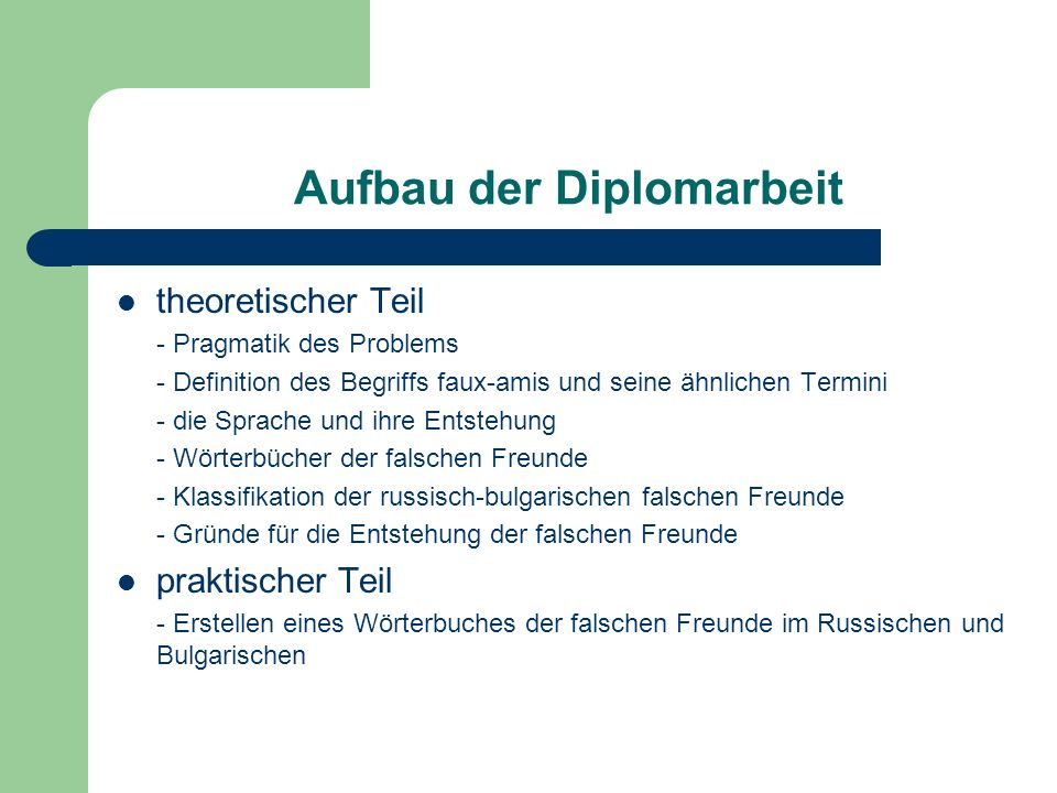 Wörterbuch der falschen Freunde Russisch-Bulgarisch