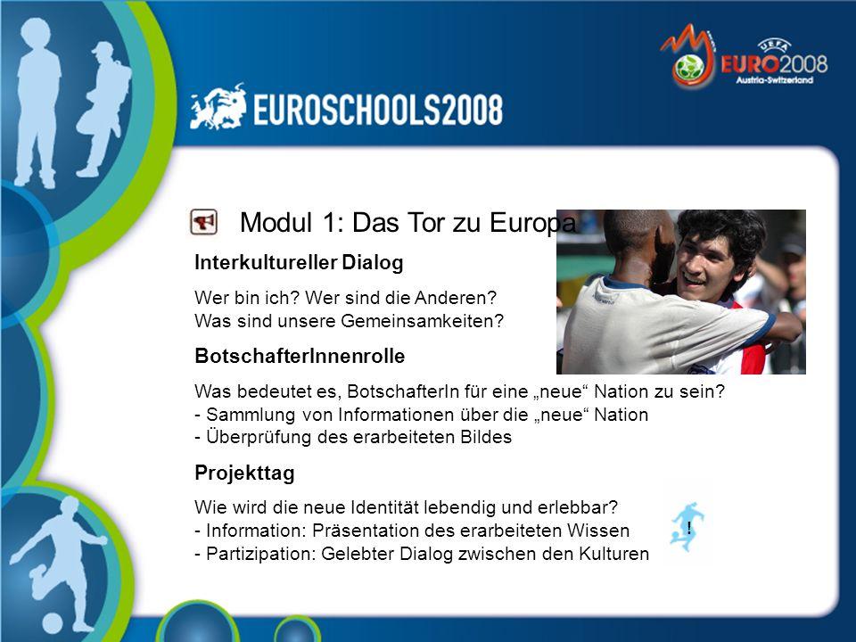 Modul 1: Das Tor zu Europa Interkultureller Dialog Wer bin ich.