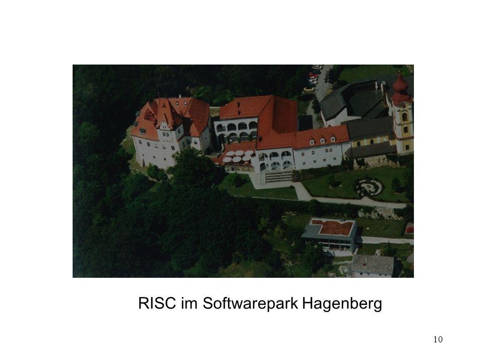 10 RISC im Softwarepark Hagenberg