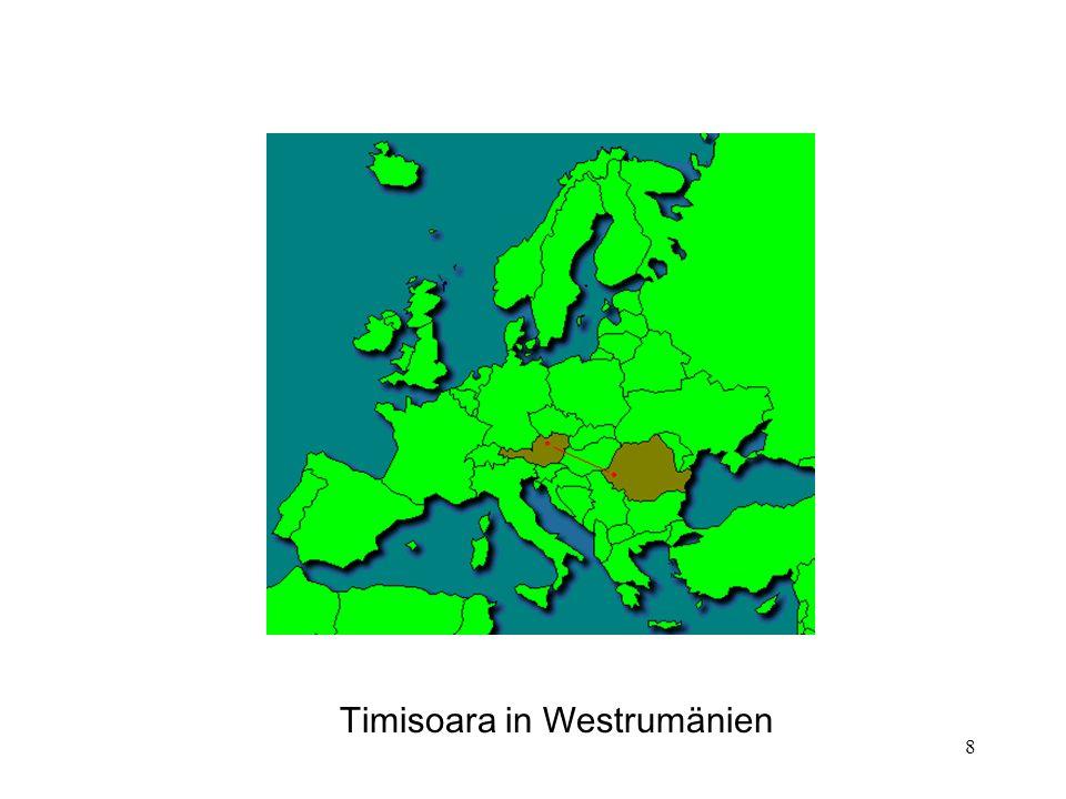 8 Timisoara in Westrumänien