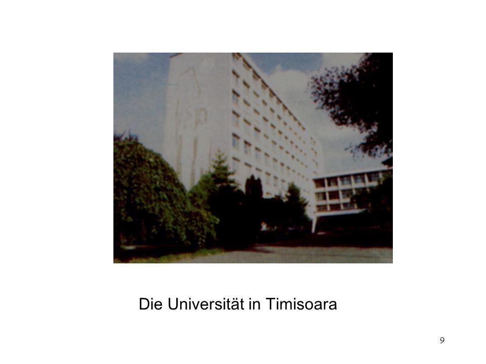 9 Die Universität in Timisoara