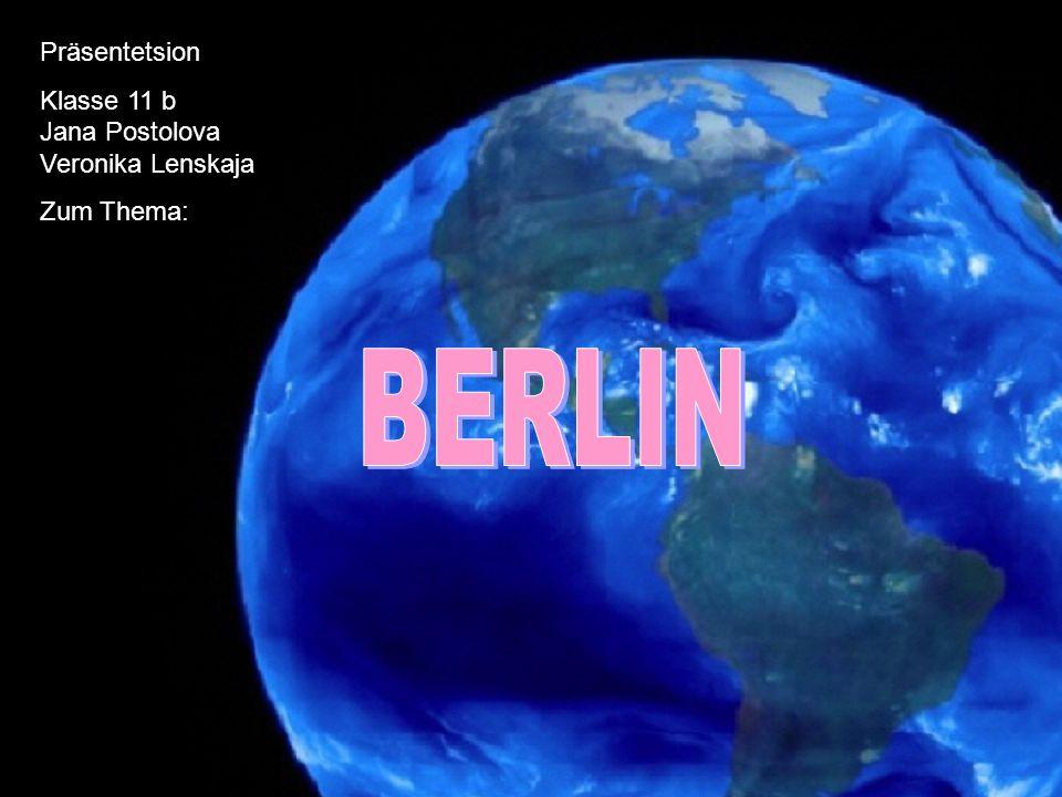 BERLIN beträgt etwa 892 km² gänzlich vom Land Brandenburg umgeben etwa 70 km westlich der Grenze zu Polen