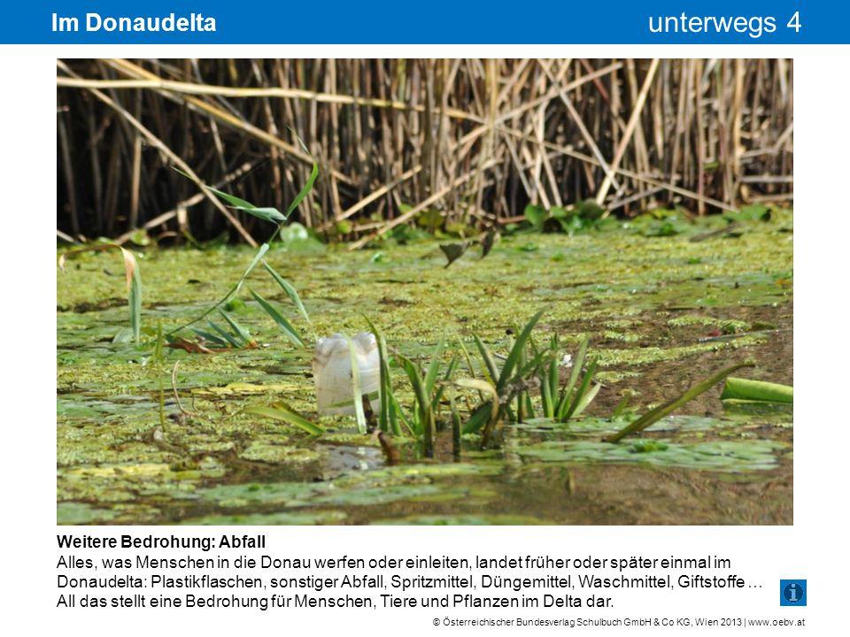 © Österreichischer Bundesverlag Schulbuch GmbH & Co KG, Wien 2013 | www.oebv.at unterwegs 4 Im Donaudelta Weitere Bedrohung: Abfall Alles, was Mensche