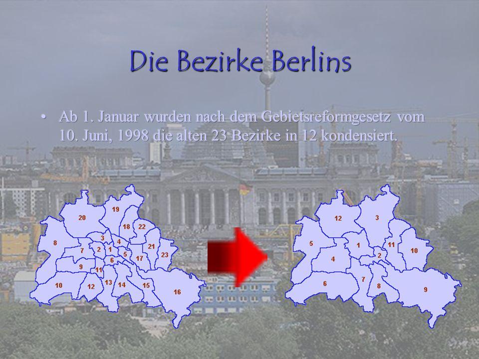 Die Bezirke Berlins