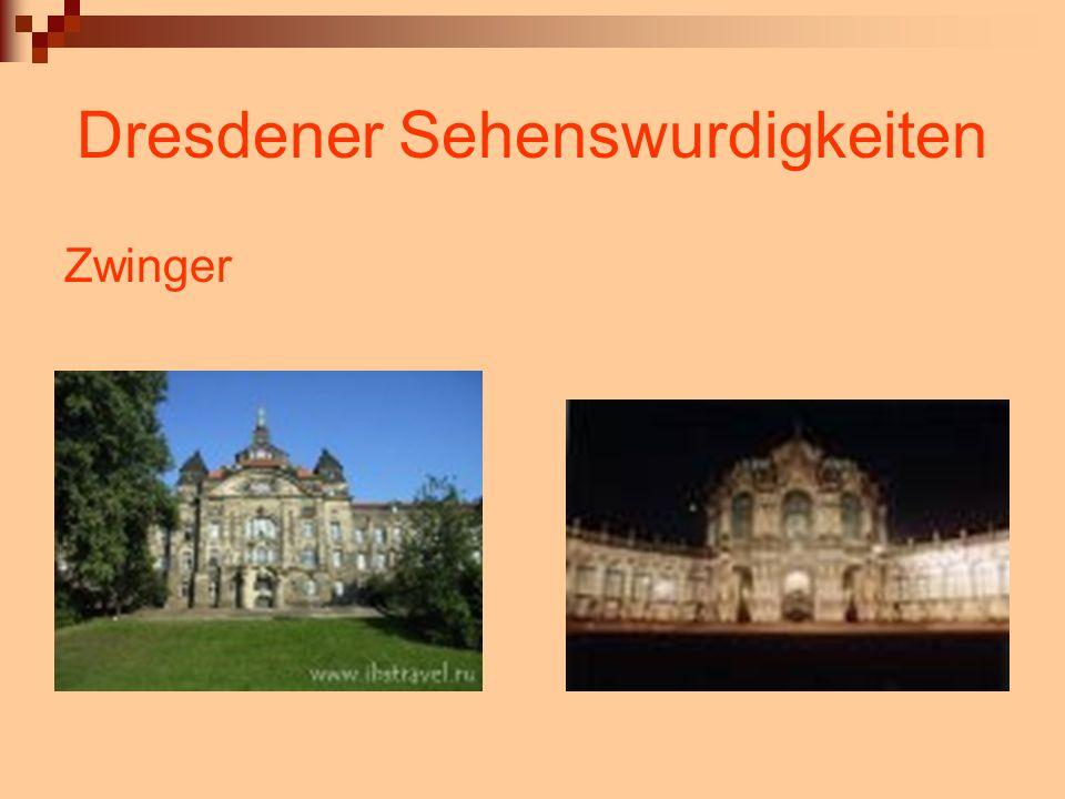 Dresdener Sehenswurdigkeiten Zwinger