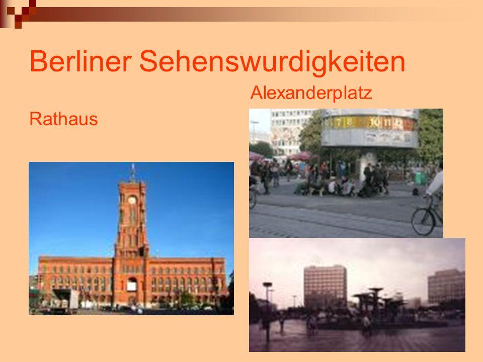 Berliner Sehenswurdigkeiten Rathaus Alexanderplatz