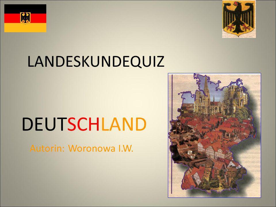 Das Wort die Deutschen bedeutet … A)die Germanen. B) das Volk. C) das Bundesland.