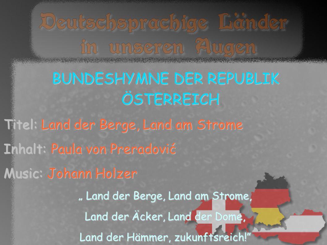 ÖSTERREICH Amtssprache:Deutsch Regionale Amtssprachen: Kroatisch, Slowenisch, Ungarisch Hauptstadt:Wien Bundespräsident: Heinz Fischer Fläche: 83.871