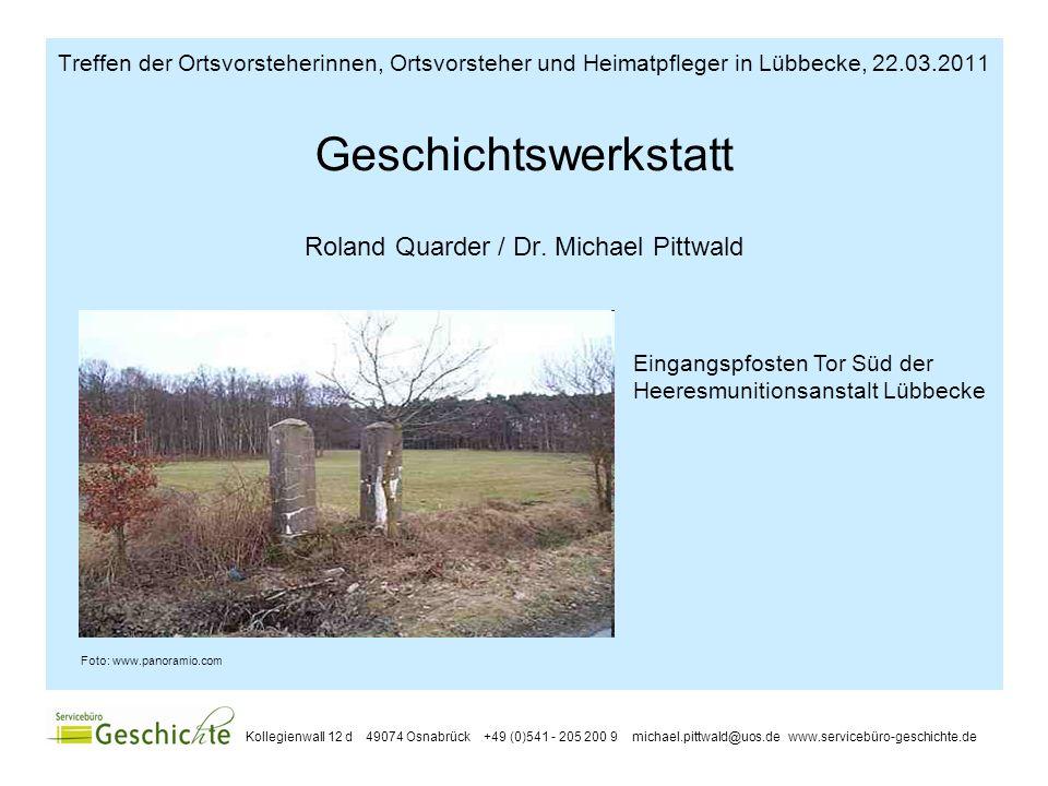 2 Inhaltliche Kriterien einer Geschichtswerkstatt Fokus: Lokal-/ Regionalgeschichte Geschichte von unten Demokratischer Ansatz