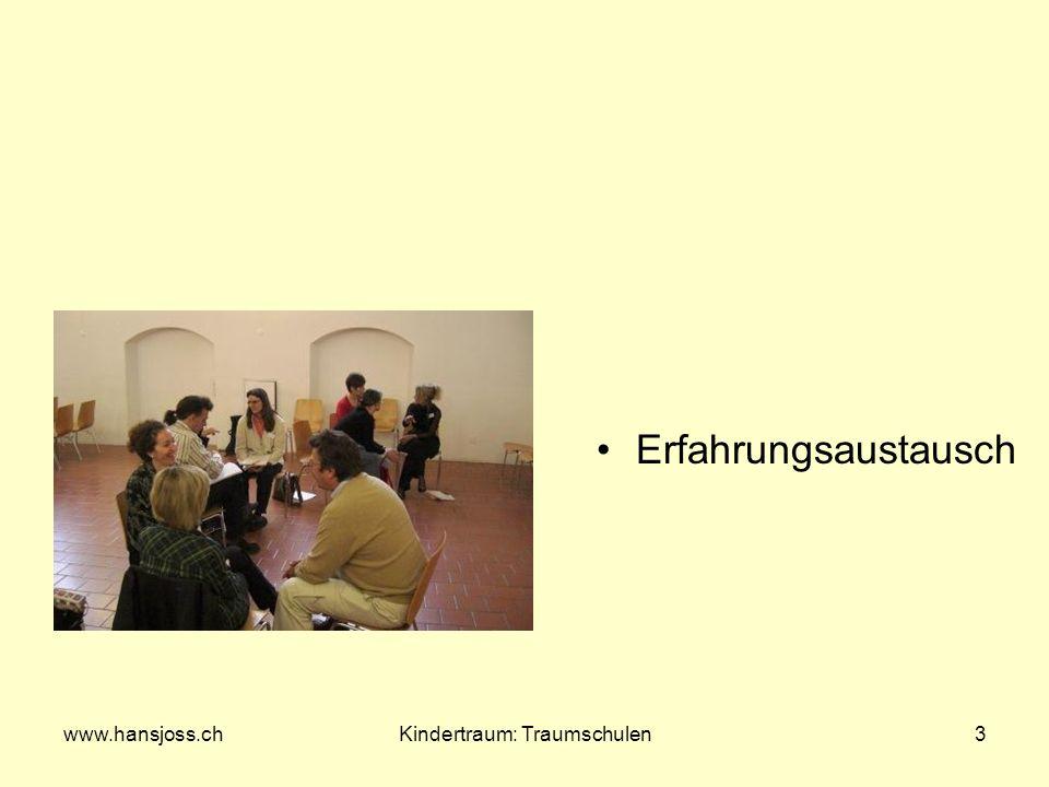 www.hansjoss.chKindertraum: Traumschulen4