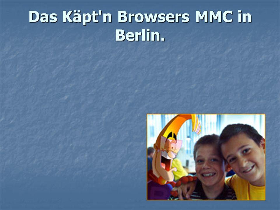 Unser Center wartet auf jeden Mitten in Berlin, zwischen Fernsehturm und Brandenburger Tor, befindet sich das Käpt n Browsers MMC –das integrative Internet- und Multi-Media- Center zur beruflichen Orientierung und Weiterbildung für behinderte und nicht behinderte Menschen.