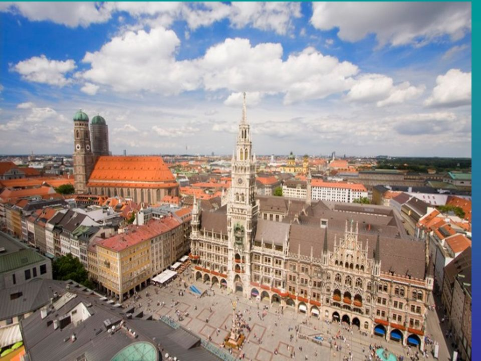 Die Marienplatz Marienplatz - ist die zentrale Fläche von München. Marienplatz Fußgängerzone und ein beliebter Rastplatz für Touristen und Einwohner d